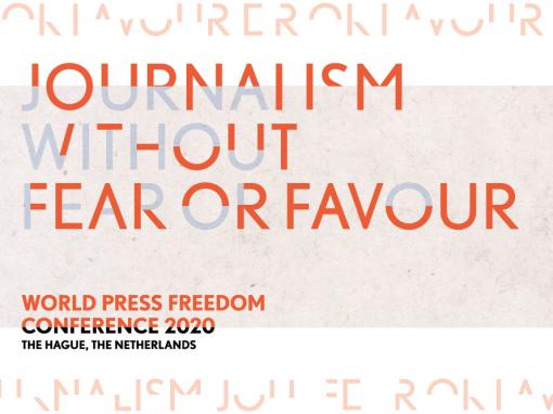 Ongefilterde waarheid voor World Press Freedom